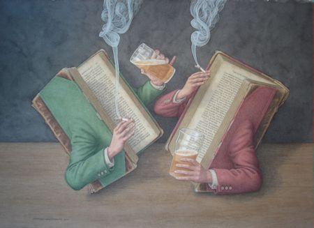 Books Behaving Badly - Time Gentlemen Please !